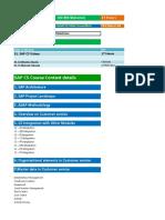 002. SAP CS Training Videos- Materials- Course Content Details