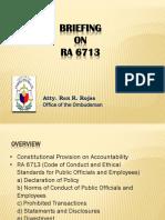 Briefing Ra 6713