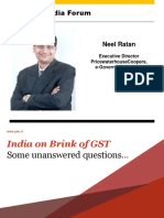 GST Regime - Panel Discussion With Neel Ratan