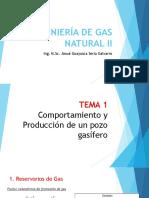 Comportamiento y produccion de un pozo gasifero
