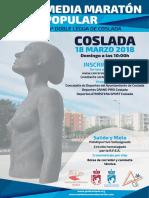 DEPORTE   Revista oficial de la 40 Media Maratón Popular y 5ª Doble Legua de Coslada