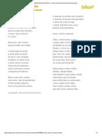 O AMOR BATE NA AORTA - Carlos Drummond de Andrade (Impressão)