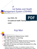 11-Occupational Health and Safety Management System (OHSMS)