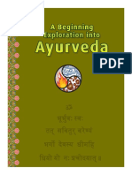 PranaMAMA a Beginning Exploration Into Ayurveda