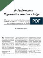 High performance Regenerative receiver.pdf