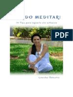 !Puedo Meditar! 14 Tips Para Lo - Lourdes Balestra