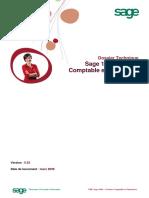 Dossier Technique - Sage 1000 GCF 552