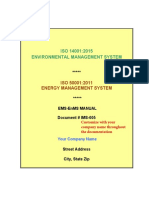 ISO 140012015 & ISO 500012011