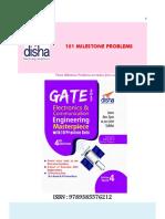 101 Milestone Problems on Electronics Communication