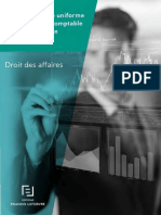 Acte Uniforme Relatif Au Droit Comptable Et %C3%A0 l'Information Financi%C3%A8re Livreblanc Ed Fl Avril 2017