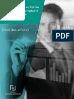 Acte Uniforme Relatif Au Droit Comptable Et %C3%A0 l'Information Financi%C3%A8re Livreblanc Ed Fl Avril 2017