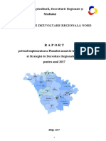Raport anual ADR Nord - 2017