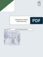 Rendición de cuentas presupuestarias, Proyecto de Contabilidad Pública.pdf