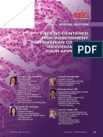 Patient-centered Risk Assessment for Ovarian Cancer