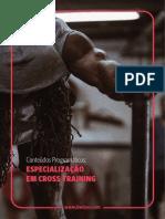 Especialização Em Cross Training