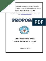 Proposal Unit Gedung Baru SMA 2