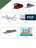 Modes of Transport1