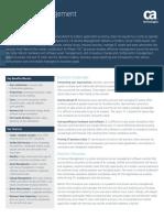 CA Service Management Data Sheet
