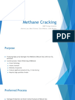 Methane Cracking Final Presentation Spring 2017 1