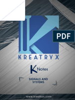 Signals and Systems EE K-Notes