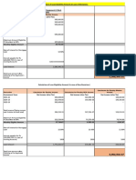 Excel Loan Calculation Sheet