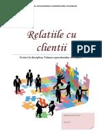 Relatiile Cu Clientii