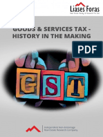 Goods & Services Tax History in the Making