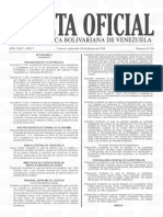 Gaceta Oficial Nro. 41.350 de fecha 28 de febrero de 2018