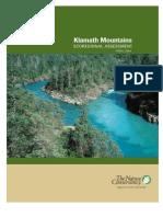 Klamath Mountains Eco Regional Assessment Report