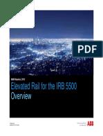 Product Presentation IRB 5500 Elevated Rail_ External