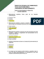 Cuestionario Mtto Predictivo (1)