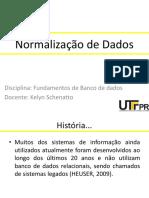 Normalizacao de Dados