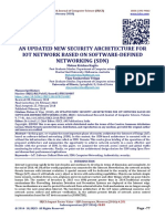 AN UPDATED NEW SECURITY ARCHITECTURE FOR IOT NETWORK BASED ON SOFTWARE-DEFINED NETWORKING (SDN)