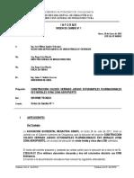 Modelo de Informe-Orden de Cambio No.1