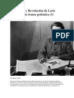 Literatura y Revolución de León Trotsky (I) sonambula