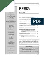 Revista Berig, n.º 11, abril de 2011