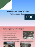 Training HSE Housekeeping Albanian-Mirembajtja e Vendit Te Punes A.Dogani
