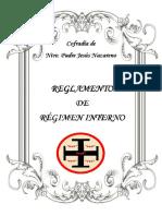 Regimen Interno de La Cofradia de Nuestro Padre Jesús Nazareno