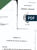 TEXTO 51.B - CARDOSO%2c FERNANDO H. Autoritarismo e Democratização - Capítulo VI