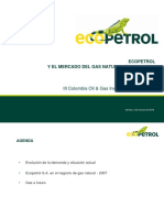 Claudia Castellanos, Director de Gas, ECOPETROL