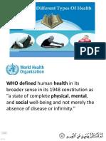 Islam and Health