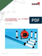 Manual Casagrande and Standpipe Piezometer14