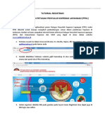 Tutorial Registrasi Aplikasi Ppkl