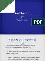 Durkheim II
