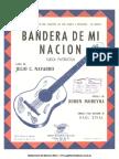 Bandera de mi Nación Ruben Moreira