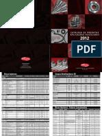 Catálogo Aplicações 2012 B