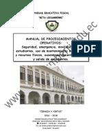Manual Procedimientos Operativos 2016-2018
