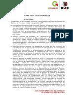 Informe Anual de Actividades 2014 Icati
