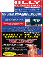 The Constitutional Walking Tour Map Ad