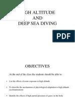 L7- Respiration in Aviation, Altitude & Deep Sea Diving